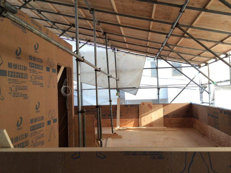 屋上防水下地合板