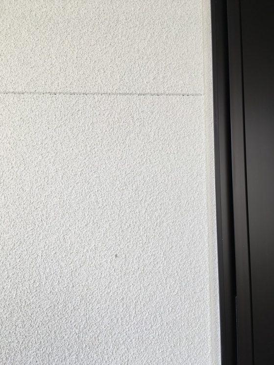 吹付塗装済みの外壁